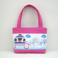 Girls Tote Bag - Princess Carriage