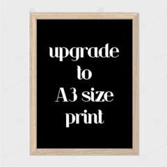 A3 Size Print Add on