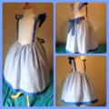 Girls dorothy dress costume size 6