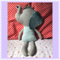 Large Soft and Cuddly Elephant Doll