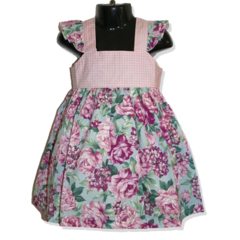 CLEARANCE SALE... SIZE 2 rose floral Grace Dress