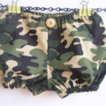 Boys camouflage bloomers - green, babies, toddlers, gift