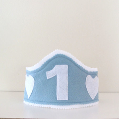 Personalised Boys Birthday Hat,   Baby First Birthday Party Hat