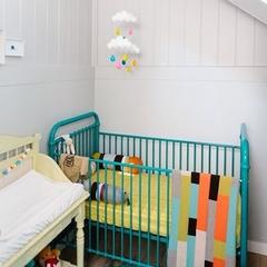 Summer cloud trio, nursery decor