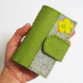 Business Cards holder, pure wool felt, Perth