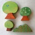 Wooden Tree Play Set