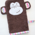 'Taylor' the Monkey Mitt (Children's Bath/Wash Mitt)