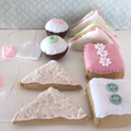 Felt Play Food, Felt Sandwiches, Felt Sweets