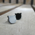 Pretty Little Kitty Stud Earrings