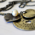 Friendship Necklace Girlfriend Best Friends Jewelry Hearts 50th Birthday Gift