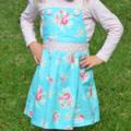Sweet Pea Pinafore Dress. birthday party. winter dress. summer dress
