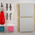 Make a stamp art kit - carve your own stamp - stamp carving kit - craft kit