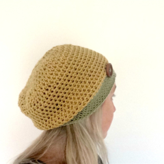 Mustard and Moss, Slouchy Beanie