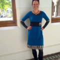 Last one, Miracle Dress in Teal XL