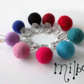 Most practical pin cushion ever - felt ball pin ring by Milbo's
