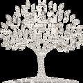 Paper Tree - Men's Chalk Hoodie
