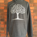 Paper Tree - Men's Chalk Hoodie