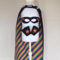 ~ Superhero Set ~ Reversible Cape, Mask & Cuffs ~