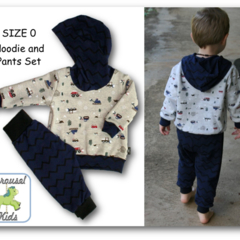 SIZE 0 Hoodie and pants set