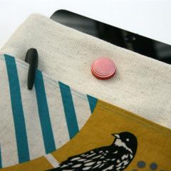ipad/tablet cover - funky bird