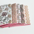 ☆ SALE Custom Order Mini Notebooks Party Wedding Favours Journals Pink Orange