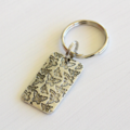 Buy 3 Get 4th Free! Silver Butterfly Keyring