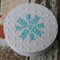 12 Snowflake Gift Tags ~ Snow Princess Party Tags ~ Snow Queen Party Tags
