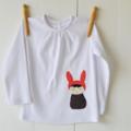 SALE - Little Bunny Girl Long Sleeve Top