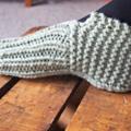 Slipper Socks Boot Style size 38 small women's LAST PAIR
