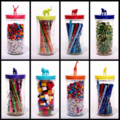 Storage jar Customised Large 'Wild Jar'-handcrafted for bits and bobs!