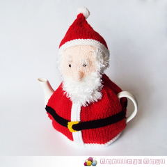 Santa Hand Knitted Christmas Tea Cosy