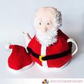 Santa Hand Knitted Christmas Tea Cosy
