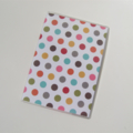 Passport Cover Case Holder  - Bright Polka Dots