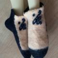 Large Slocks - Felted Slipper-Socks, sizes 43+