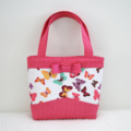 Mini Tote Bag - Butterflies