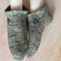 Medium Slocks - Felted Slipper-Socks,  sizes 39-42