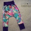 'Paddlepop' Tie Dye Harem Pants