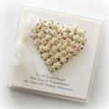 25th Anniversary Custom made card personalised wedding china husband wife