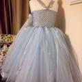 Queen Elsa Disney Frozen inspired handmade tutu sz 5-10