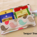 Little Bird Tea Wallet - holds 4 Teas - damaged stock special