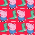 Peppa Pig and George Fabric