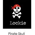 Personalised Pendant Pirate Skull