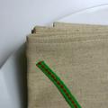 Set of 2 - Cloth Dinner Napkins - Linen/Cotton 17 inch (43cm) square