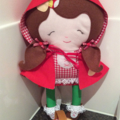 Little Red Riding Hood Softie Doll