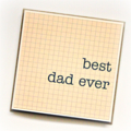 Best Dad Ever Card, Father's Day Card, Birthday Card, Card For Him