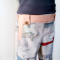 Vintage Airplanes Boys Shorts Size 3