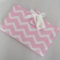 Nappy Wallet - Pastel Pink Chevron