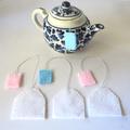 Four Felt Teabags Play Food