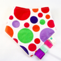 SET OF ANY 3 GIRLS BANDANA DRIBBLE TEETHING SENSORY BIBS