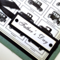 Father's Day card - Vintage Cars